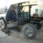 Rover mit Achse
